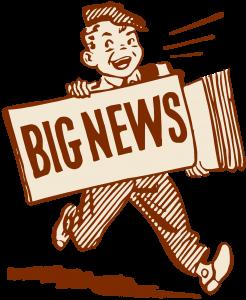 blog picture of cartoon news boy yelling big news