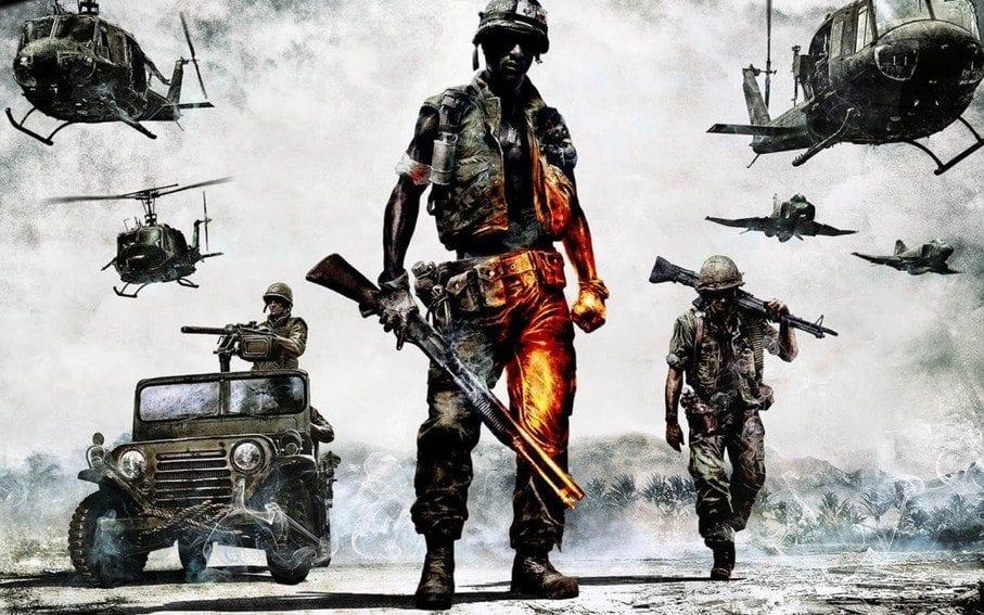blog illustration of military combat