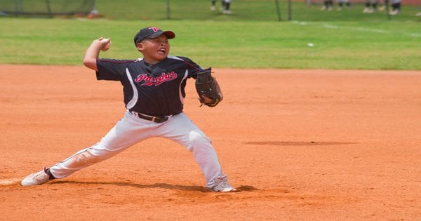 blog picture of youth baseball pitcher throwing hard