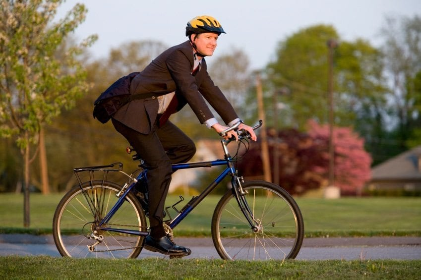 Cycling or Walking to Work is the Key to Longevity