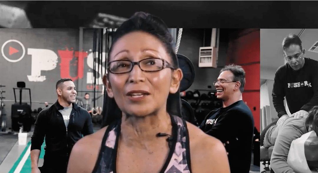 Diana Alvarado | PUSH's Greatest Fan! | PUSH-as-Rx �