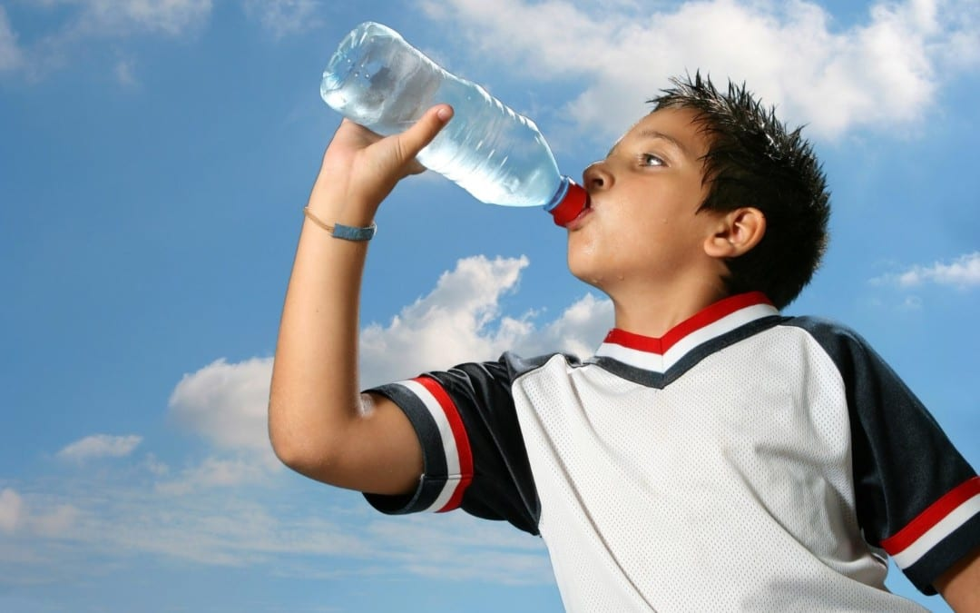 Water Outperforms Sports Drinks for Young Athletes