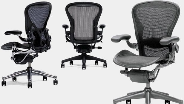 herman-miller-aeron-sidebar-gear-patrol - 13 Best Office Chairs Of 2017 (Affordable To Ergonomic) �? Gear Patrol