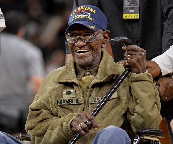 Richard Overton, Oldest Living US WWII Veteran, Turns 111