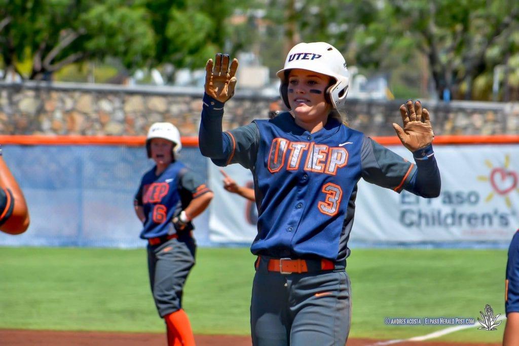 UTEP Softball Senior Day, Season finale vs Florida Atlantic University, Helen of Troy Complex
