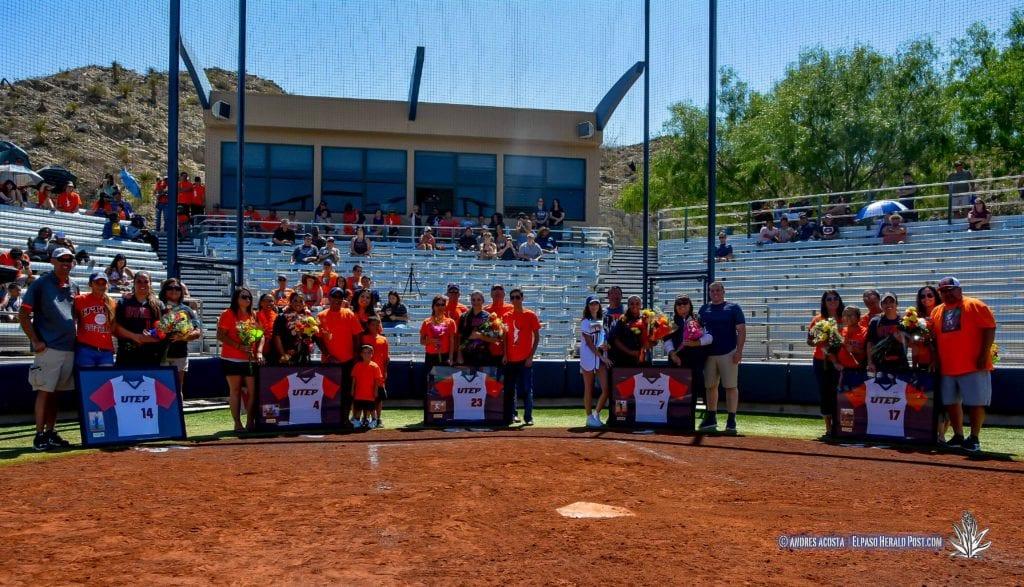 Story in Many Pics: UTEP Softball�s Senior Day