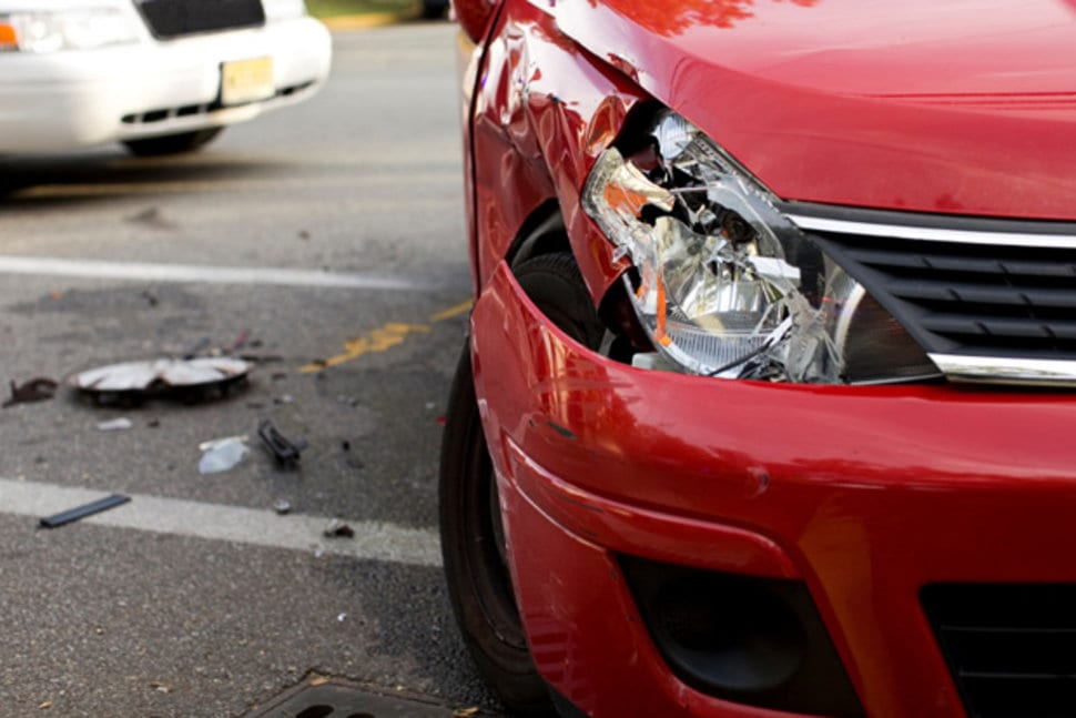 Where Does the Energy Go in Low Speed Auto Accidents?