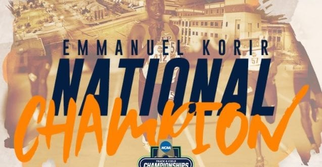 Korir Named Bowerman Award Semifinalist