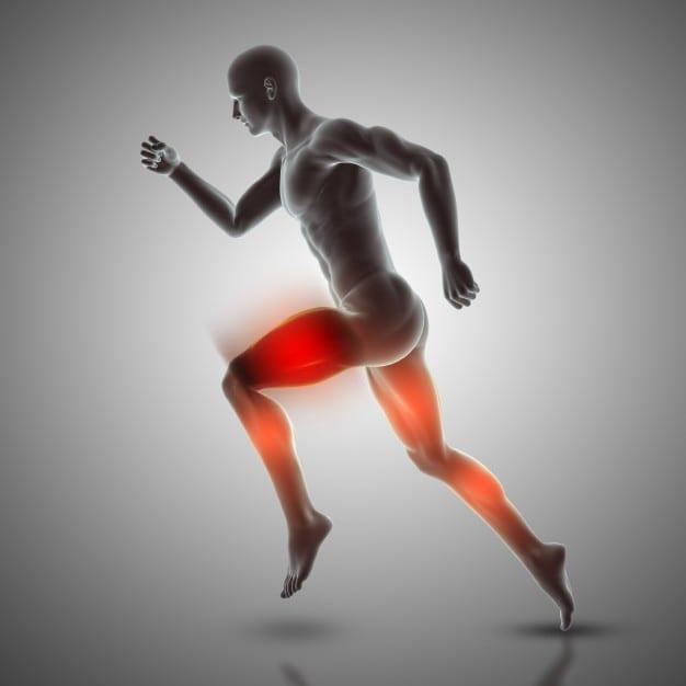 3D Figure running