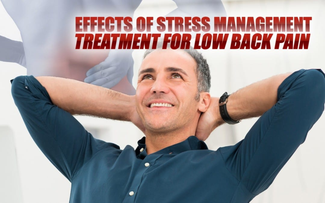 Effects of Stress Management Treatment for Low Back Pain in El Paso, TX