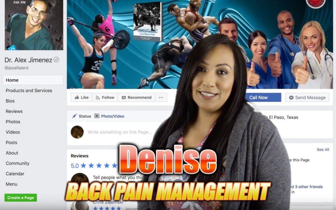 Back Pain Management In El Paso, TX | Video