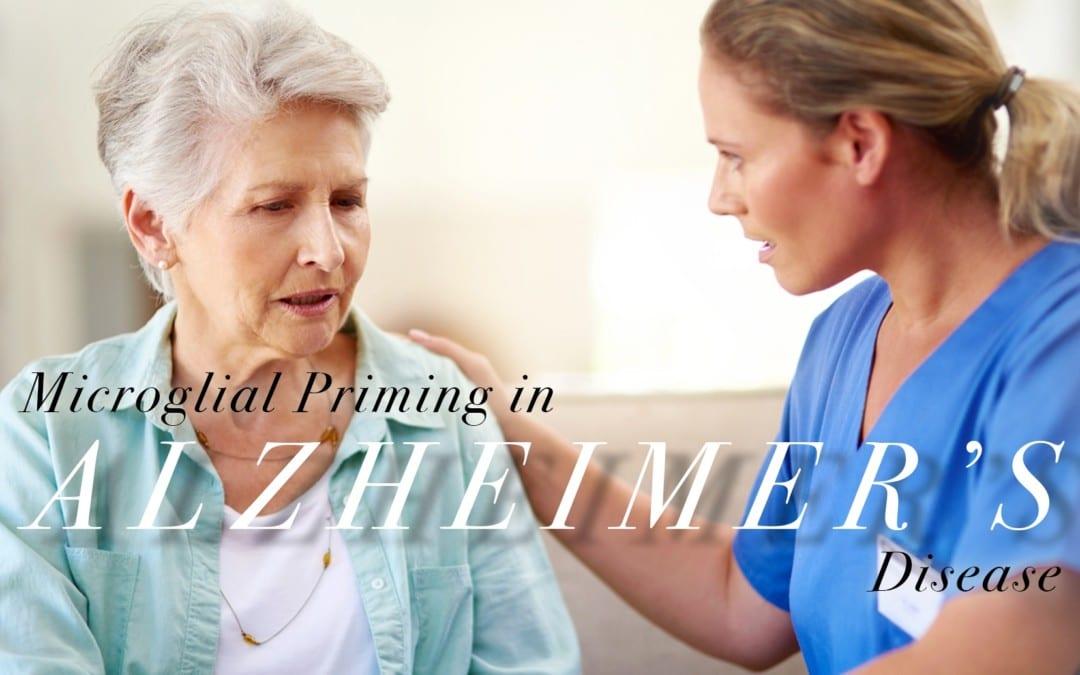 Microglial Priming in Alzheimer's Disease