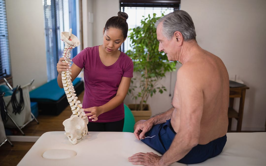 Discitis Spinal Disc Infection Causing Inflammation